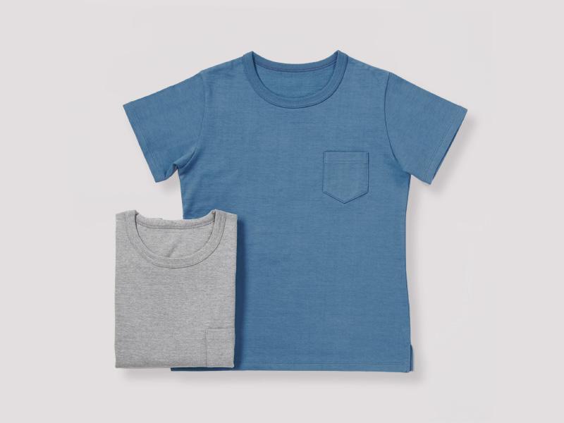20/30吊天竺ポケットTシャツ